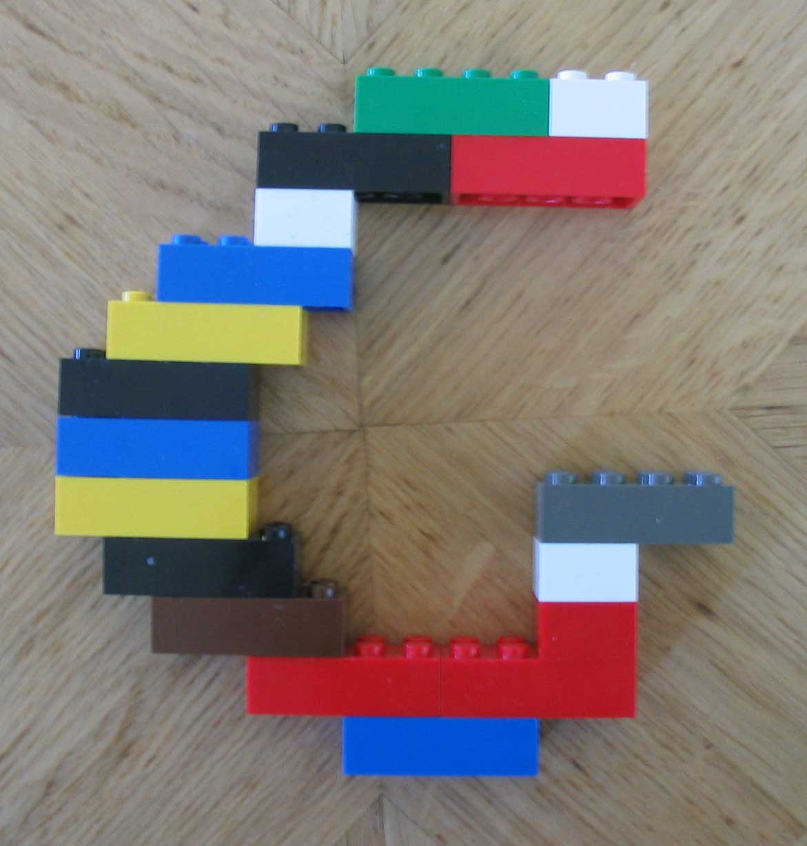 Lego Letters To Print Construct letters with lego