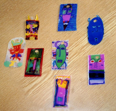Make a pendants for carnival nursery school for Plexiglass arts and crafts