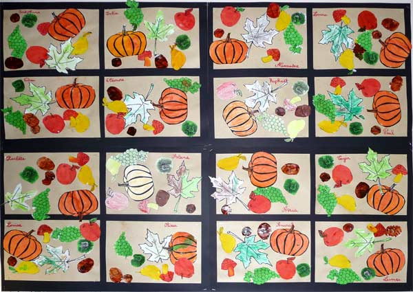 Fall canvas craft preschool for Arts and craft websites